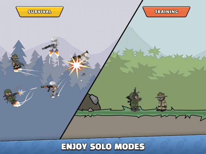 Doodle Army 2 : Mini Militia screenshot 2
