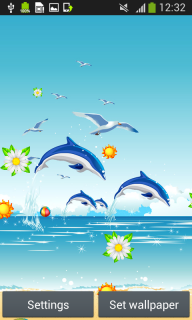 Dolphins Live Wallpapers screenshot 4