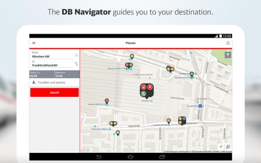 DB Navigator screenshot 1