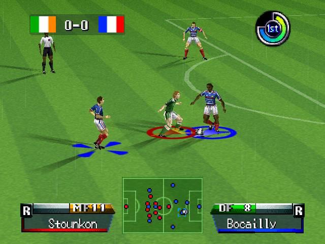 International Superstar Soccer 98 screenshot 2