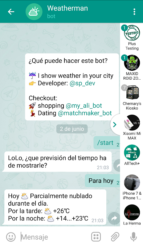 Plus Messenger screenshot 8