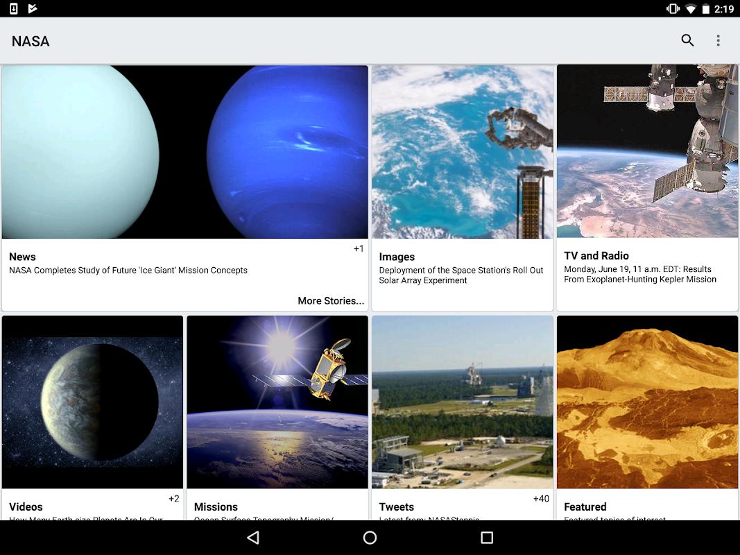 NASA screenshot 6