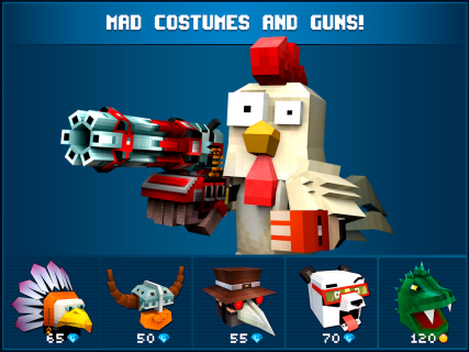 Mad GunZ FPS online shooter, crafting and building screenshot 2