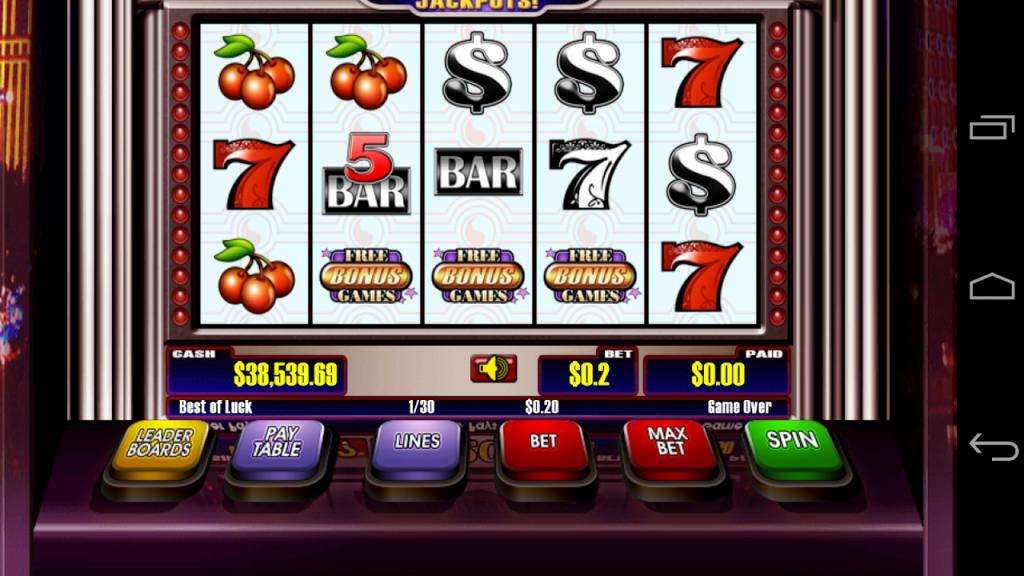 slot machine deluxe apk