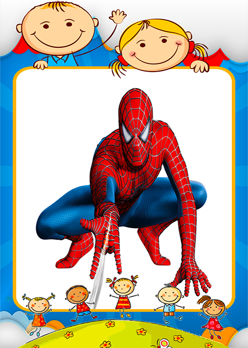 Coloring spiderman Games screenshot 1
