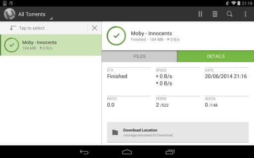 µTorrent® Pro - Torrent App 5 5 6 Download APK for Android - Aptoide