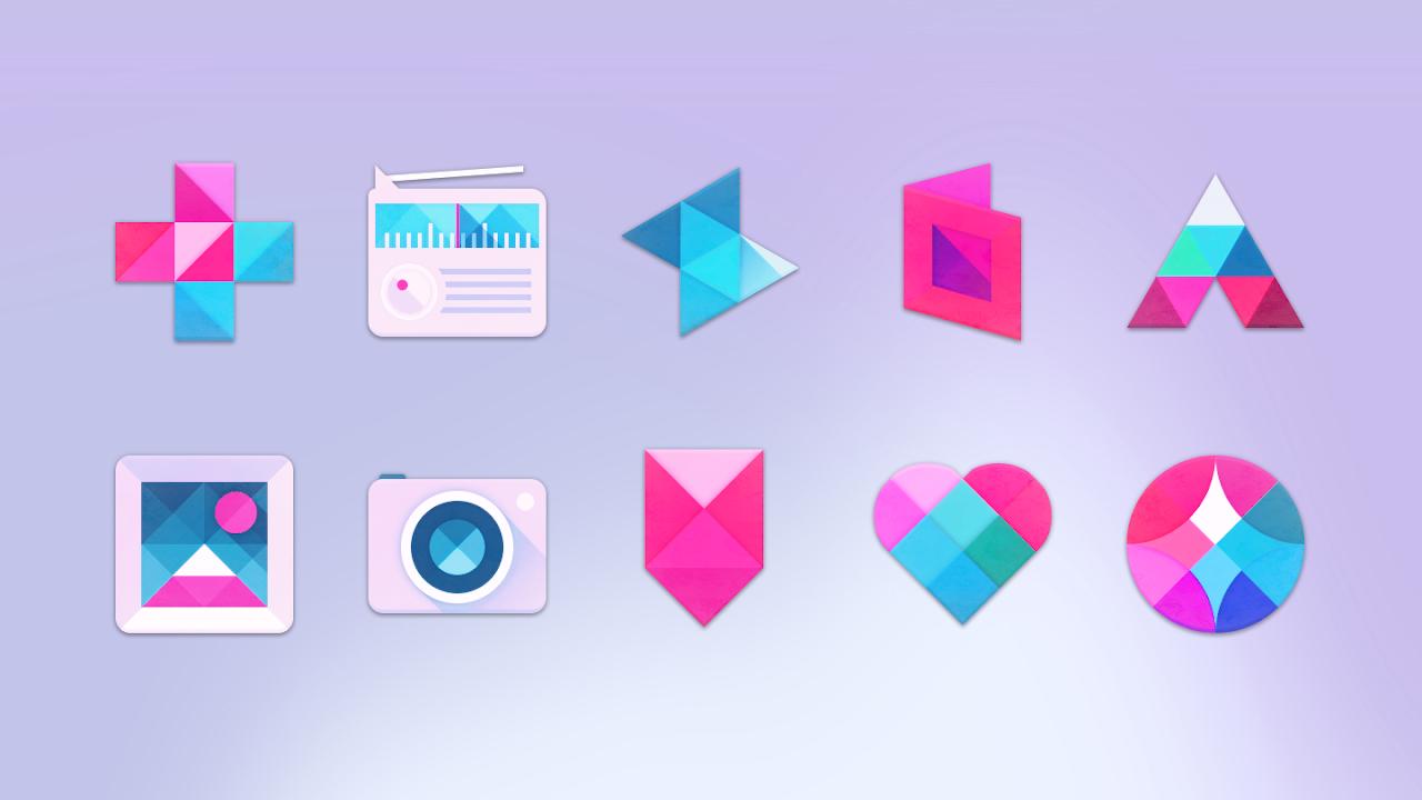 Unicorn - Free Icon Pack screenshot 2