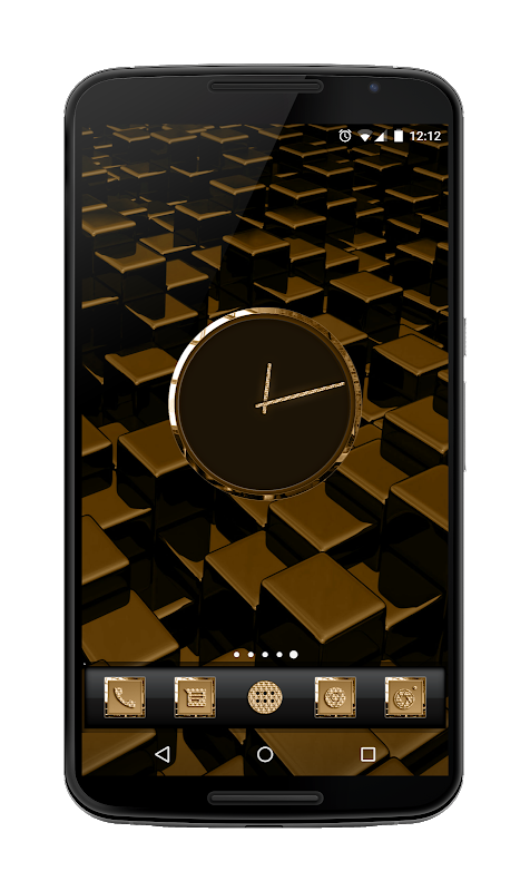 24K Icon Pack screenshot 1