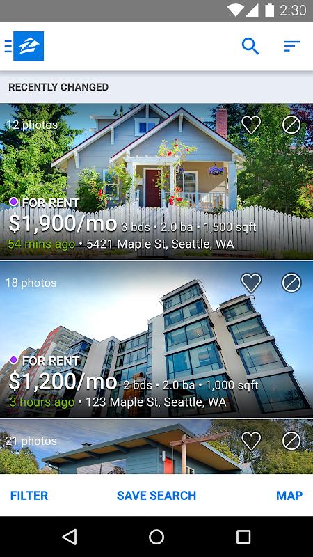 Apartments & Rentals - Zillow screenshot 2