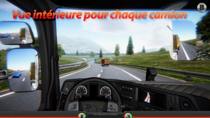 Simulateur de Camion : Europe 2 screenshot 5