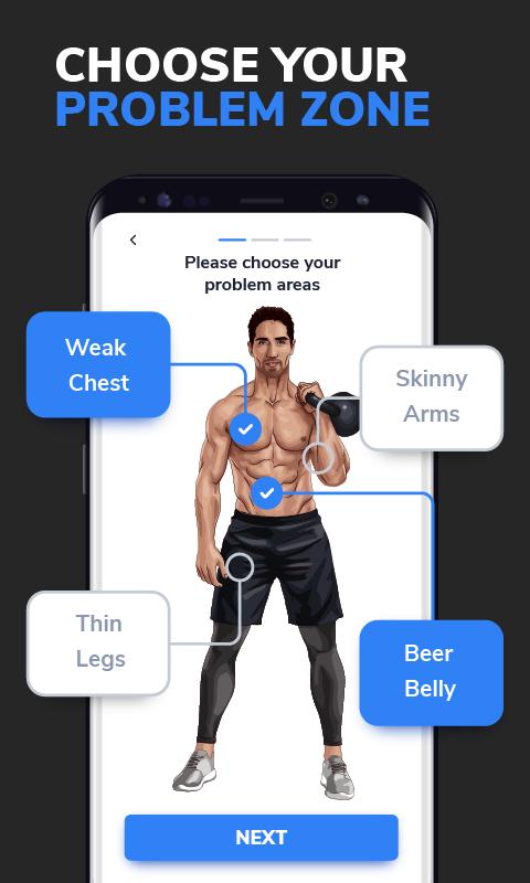 BetterMen: Workout Trainer screenshot 1