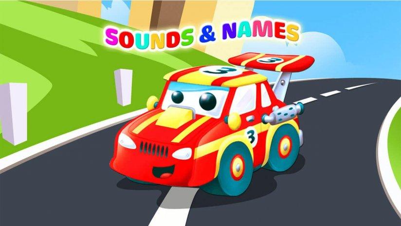 çoçuk Araba Oyunları Sesleri Yapbozu Boyama 110 Android Aptoide