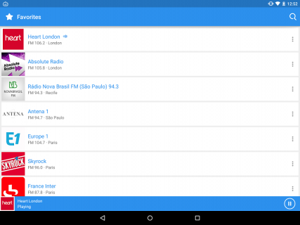 Simple Radio by Streema screenshot 11