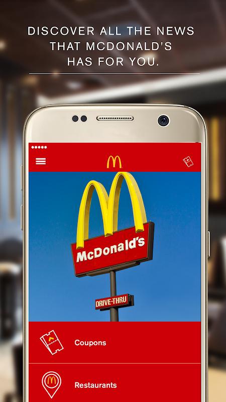 McDonald's App - Caribe screenshot 1