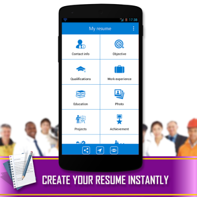 resume builder download apk for android aptoide