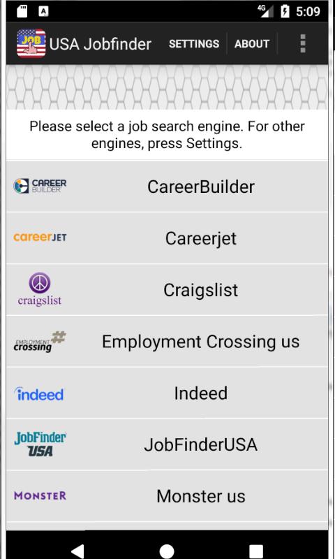 USA Jobfinder screenshot 1
