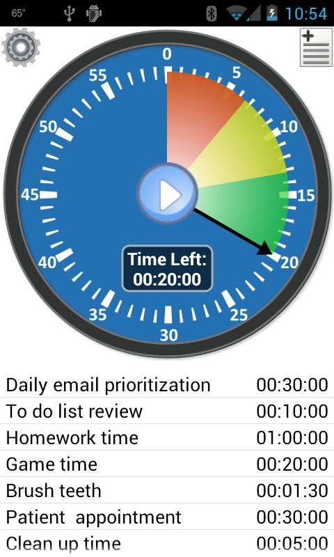 Activity Timer - Productivity screenshot 1