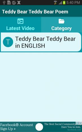 Teddy Bear Teddy Bear Poem 4.4 Download APK for Android - Aptoide