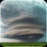 tornado storm live wallpaper icon