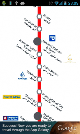Dubai Metro Map of Train Route 1 3 Download APK for Android Aptoide