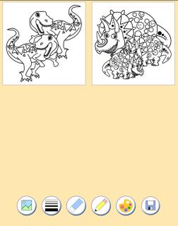 Dinozorlar Boyama Kitabı 10 Android Aptoide Için Apk Indir