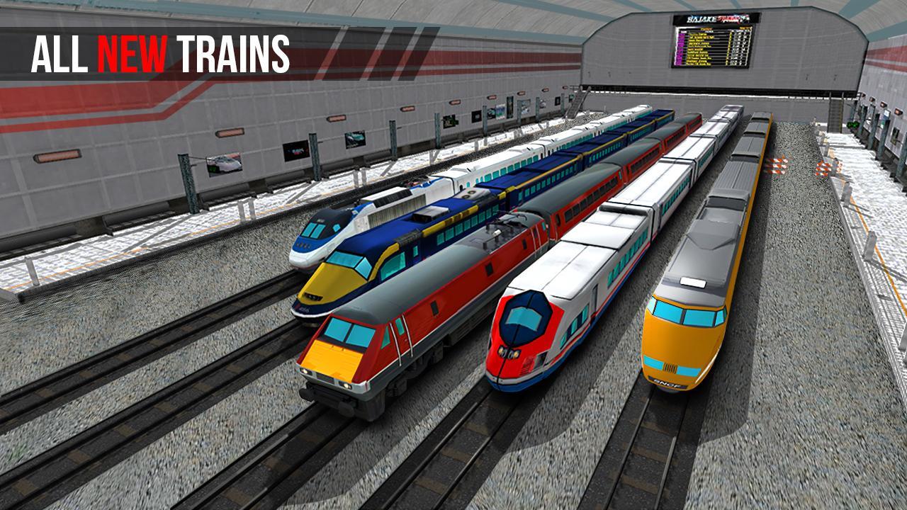 Jogos de simulador de trem: jogos de trem screenshot 2