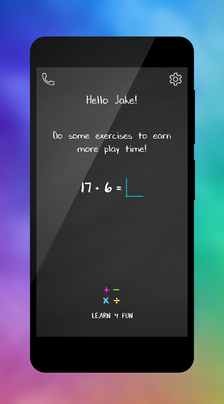 Learn 4 Fun - Math Exercises screenshot 1