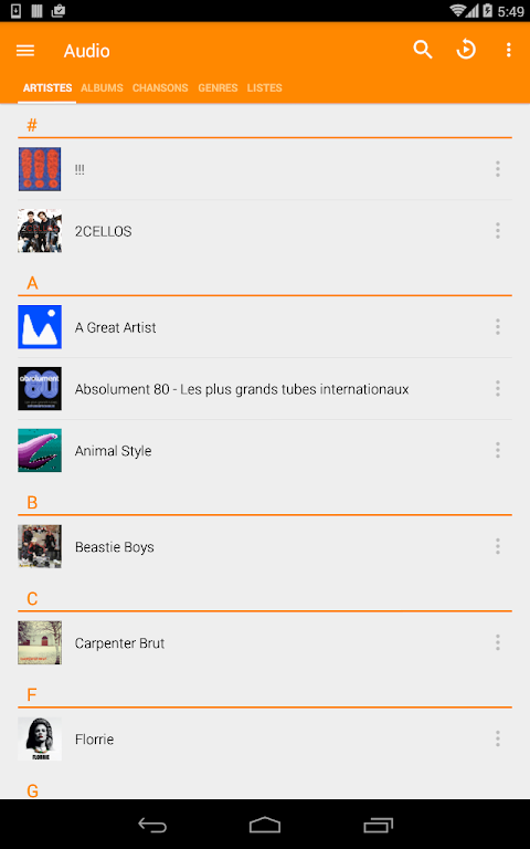 VLC for Android screenshot 21