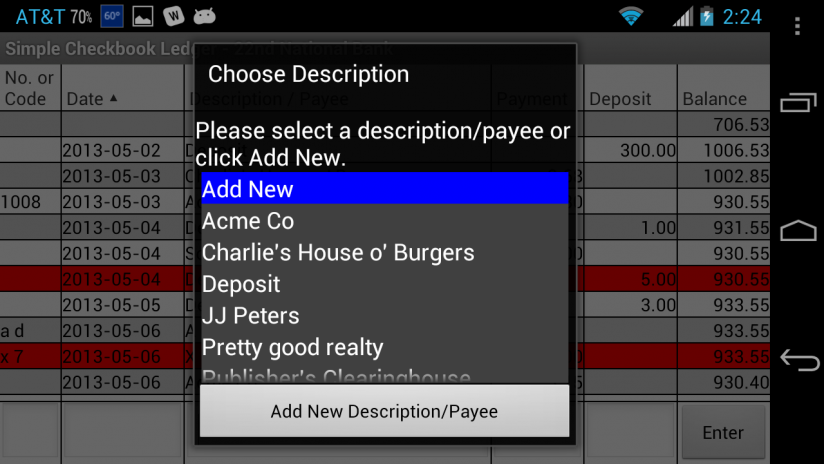 simple checkbook ledger free 3 4 download apk for android aptoide