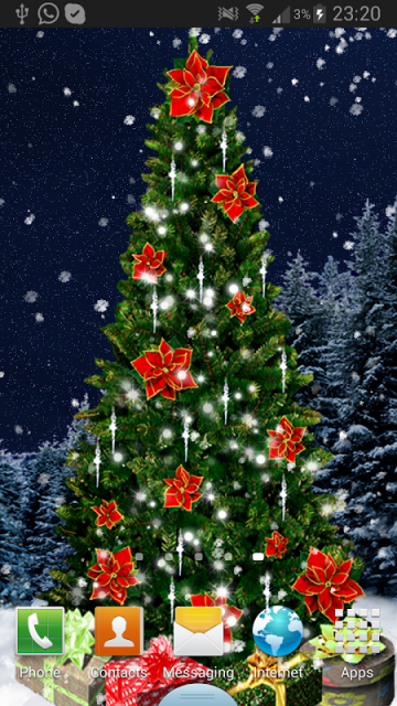 christmas tree live wallpaper download apk for android