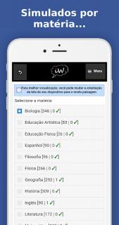 Enem 2018 Simulados e Redação screenshot 5