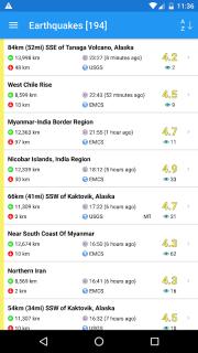 Earthquake Plus - Map, Info, Alerts & News screenshot 10
