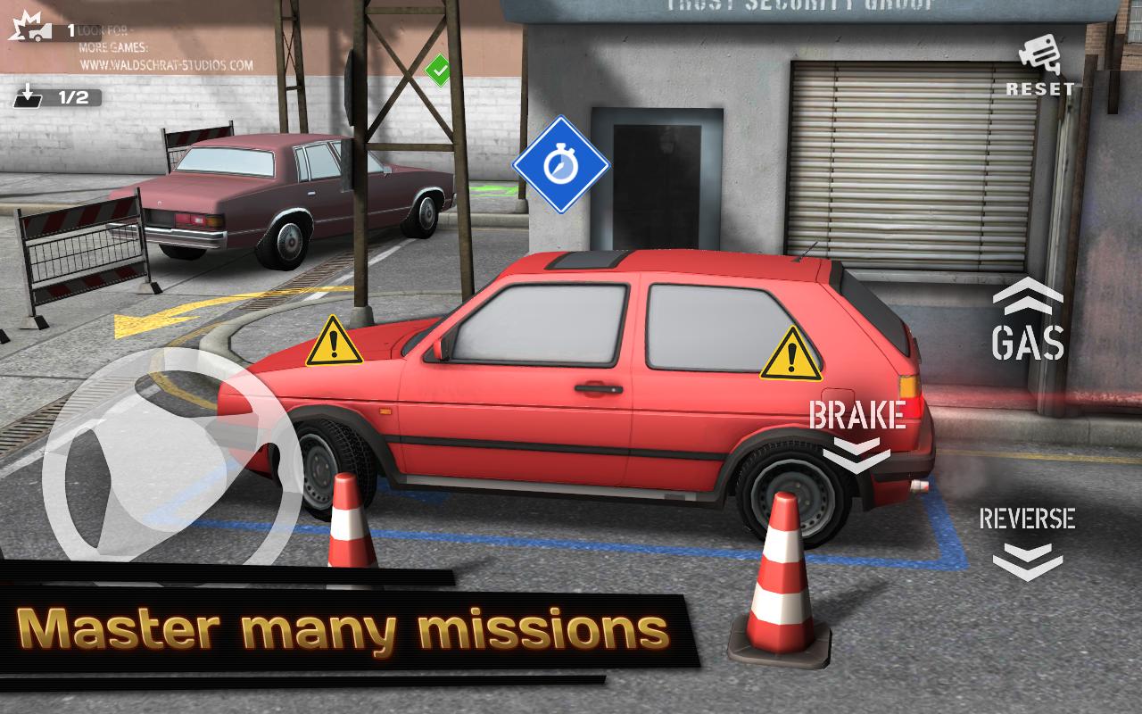 Backyard Parking 3D screenshot 2