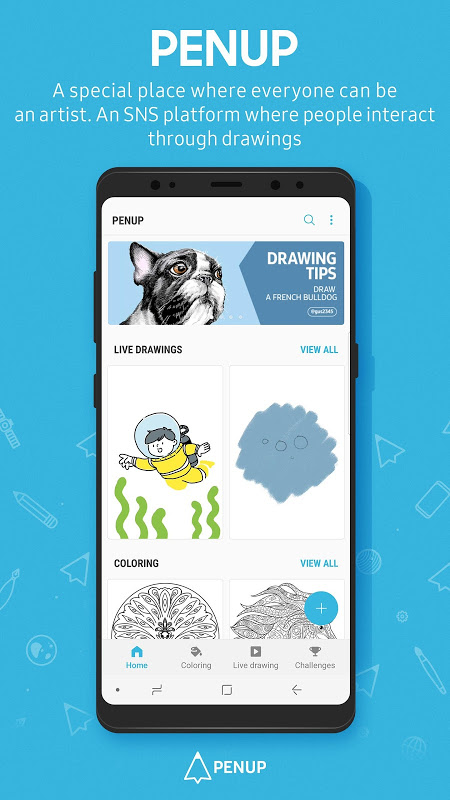 PENUP - Share your drawings screenshot 6