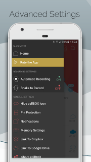 Automatic Call Recorder & Hide App Pro - callBOX screenshot 6