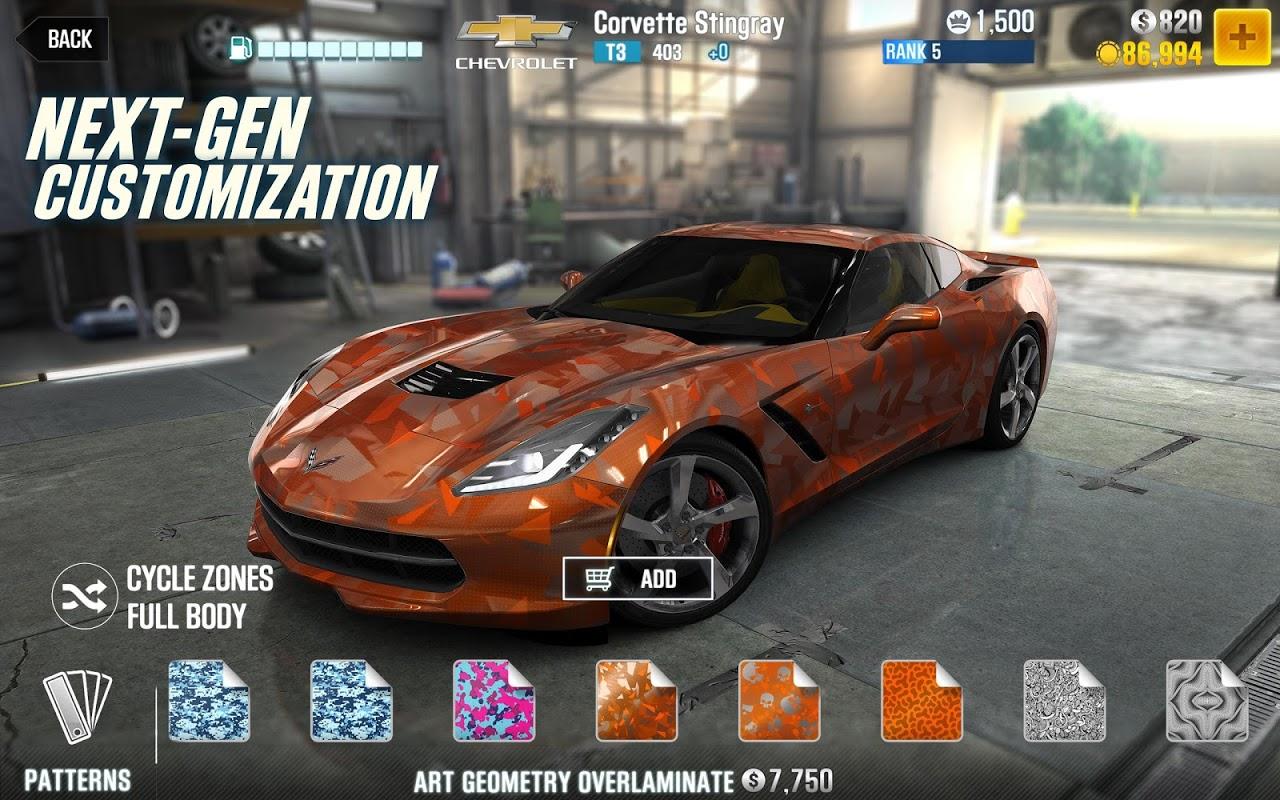 CSR Racing 2 screenshot 3