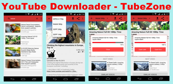 download youtube for android version 2.3.6