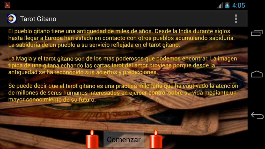 Tarot Gitano - Gratis | Download APK for Android - Aptoide