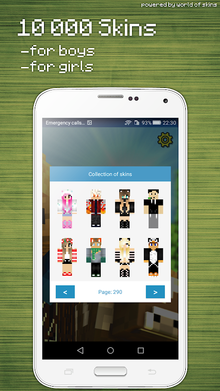 Skins Editor for Minecraft PE (3D) screenshot 3
