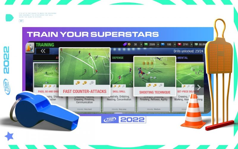 Top Eleven 2020 - Fußball Manager screenshot 6
