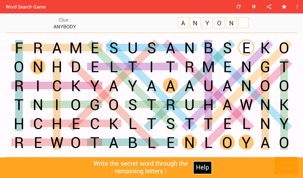 Word Search screenshot 4