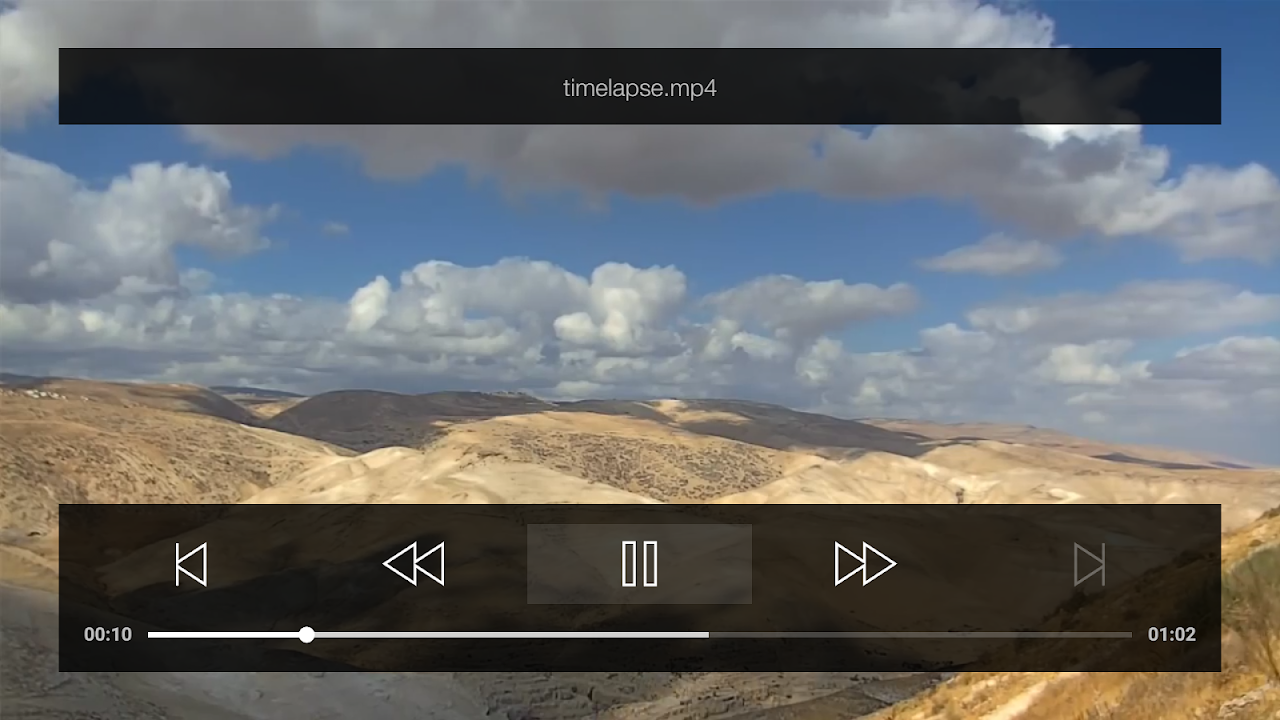 Da Player for Android TV - Video and stream player screenshot 1