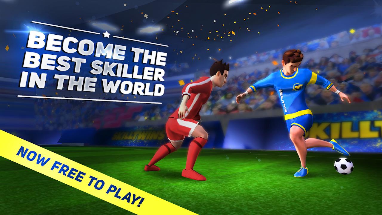 SkillTwins: Futebol - Habilidades De Futebol screenshot 1