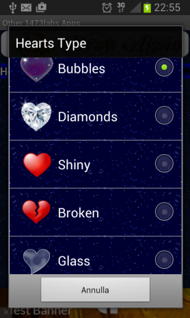screenshot di my valentine live wallpaper 1
