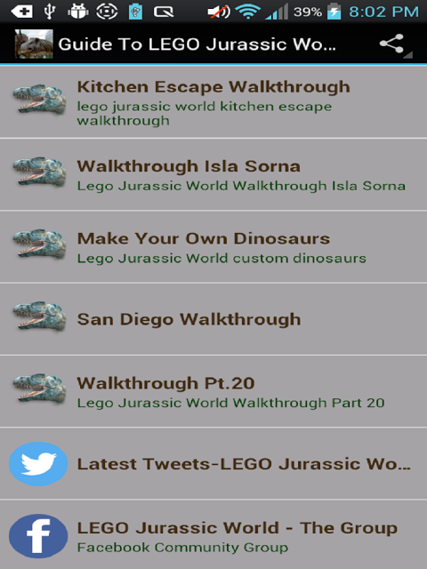 Guide Lego Jurassic World 1 Download Android Apk Aptoide