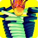 Stack Crush ball – bounce through helix!