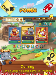 Dummy & Toon Poker Texas slot Online Card Game screenshot 3