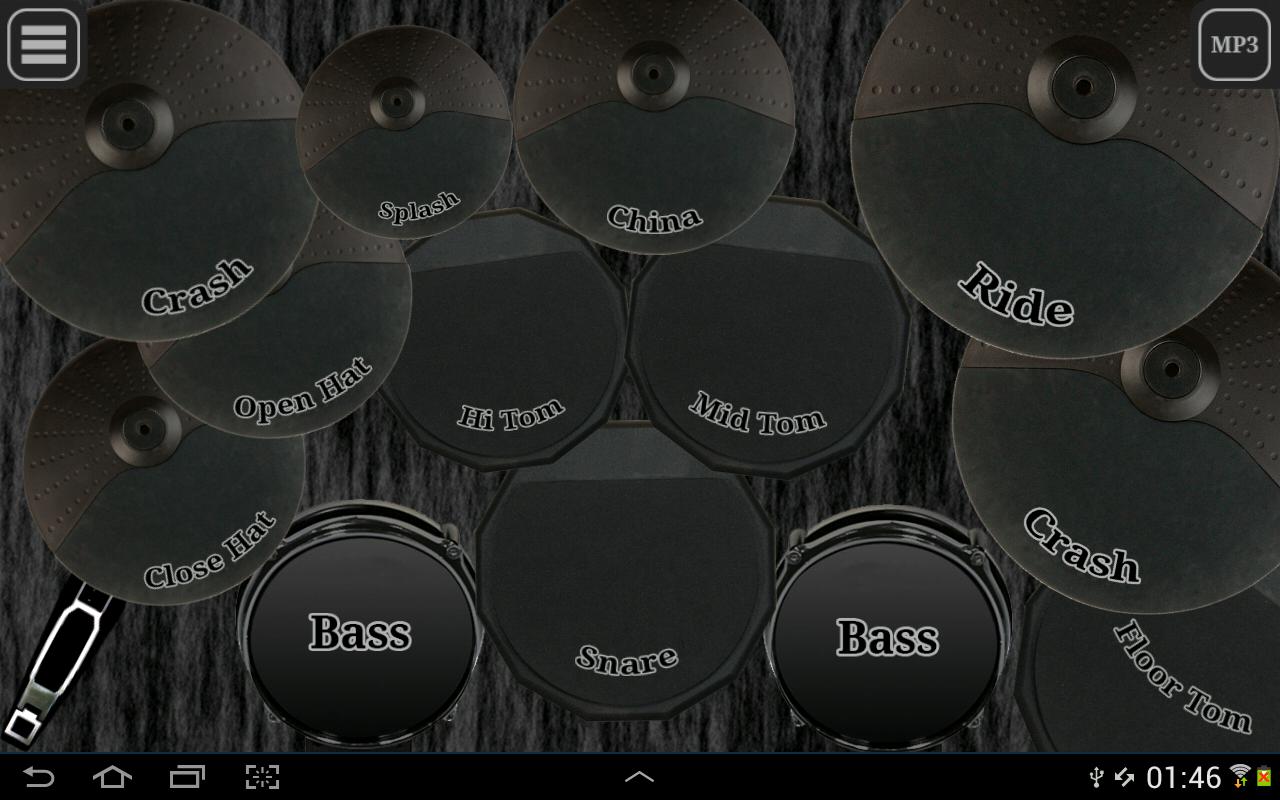 Drum kit (Drums) free screenshot 2