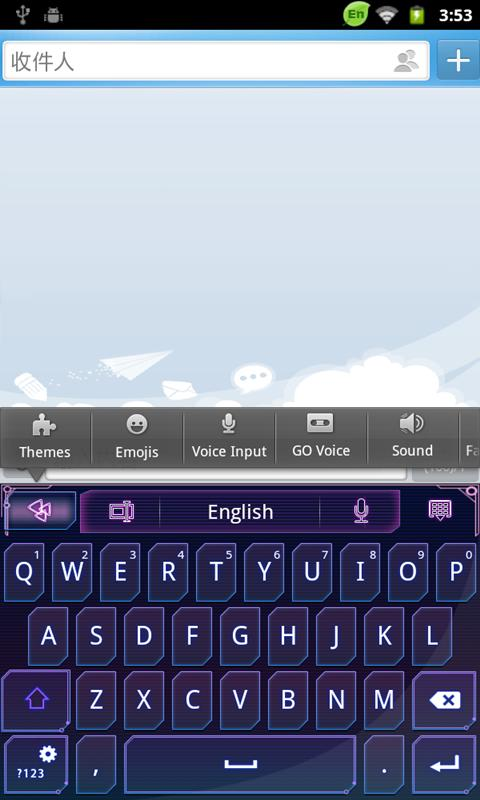 GO Keyboard screenshot 5