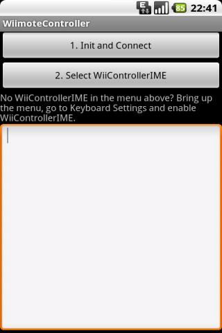 App android wiimote Download Wiimote